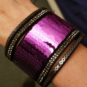 Mermaid Purple Snap Bracelet